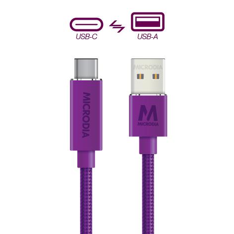 USB-C_to_USB-A - Purple