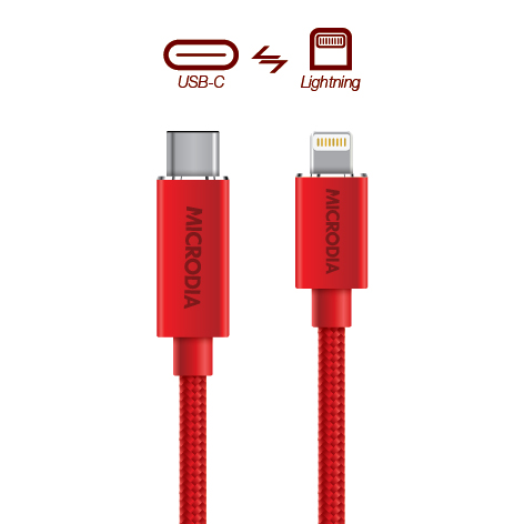 USB-C_to_Lightning - Product Red