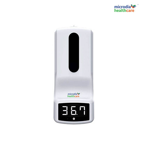 CliniCare CC-06, FDA approved IR Thermometer & Hand Sanitizer Dispenser