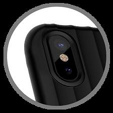 Flexorbent Royale Raised Lip Guards Camera Lens