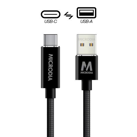 USB-C_to_USB-A - Black