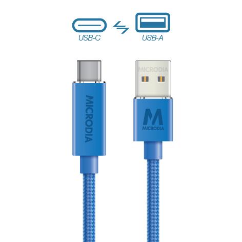 USB-C_to_USB-A - Blue