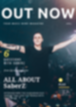 SaberZ EDM DJ&Music Producer on Interview with Out Now Music Magazine
