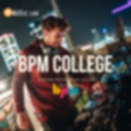 DJ on BPM College roof with DJ Eqipment