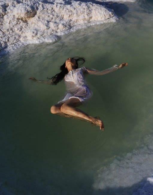 Ophelia in the Dead Sea, 2018