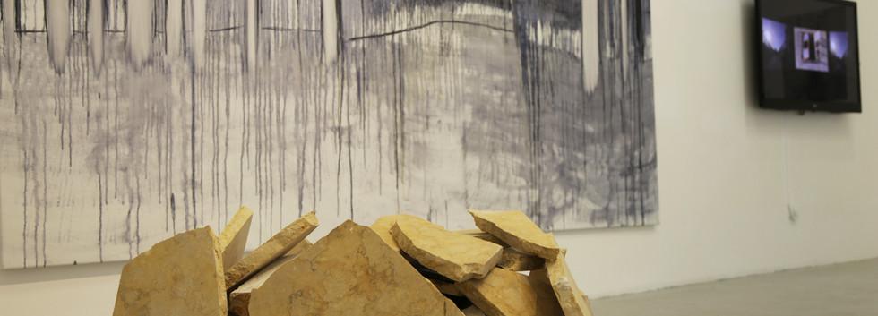 Hila Laiser-Beja, Mitzpe, 2019, installation view, ArtSpace, Tel Aviv. Curator - Dalia Danon.