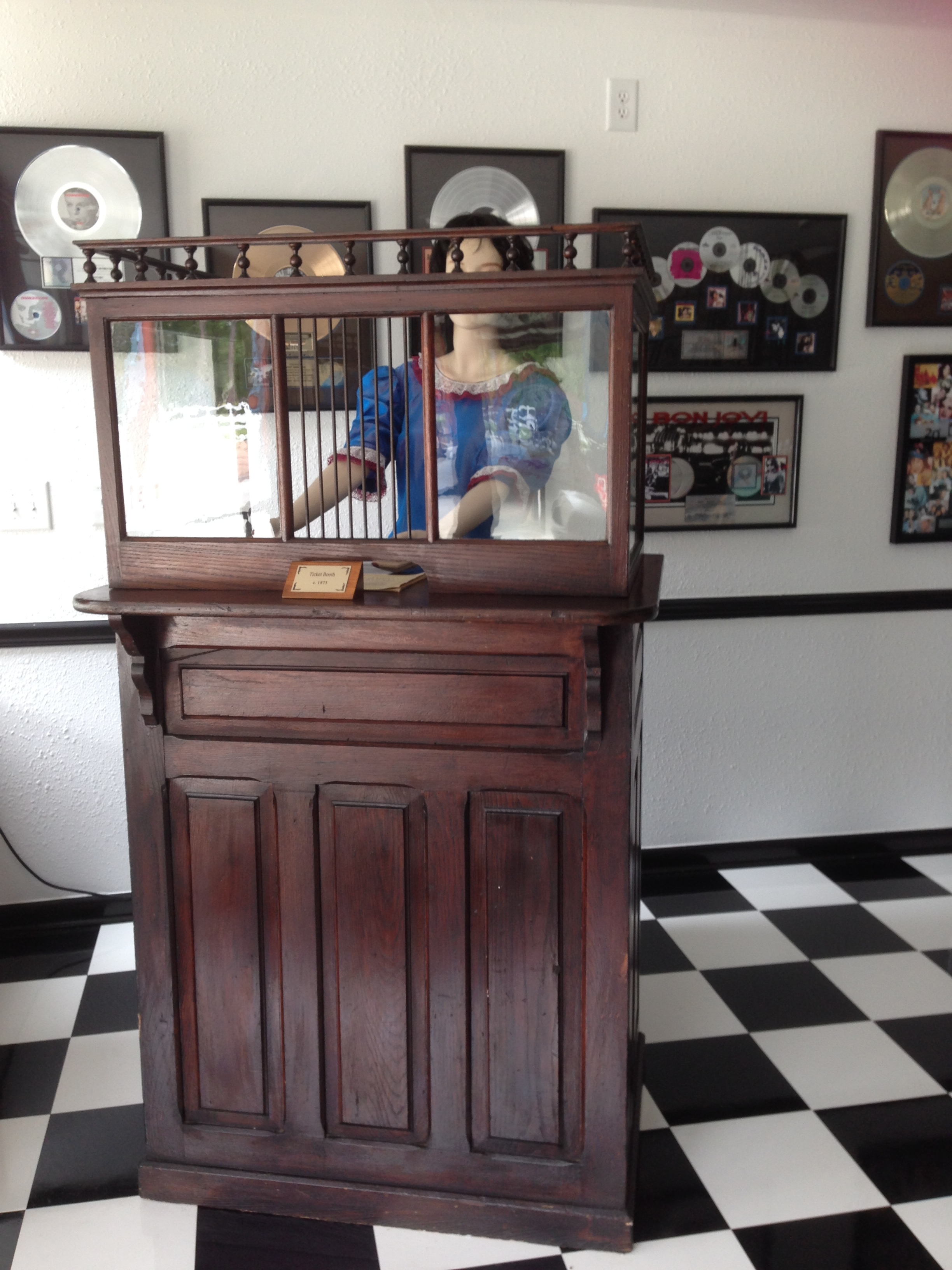 1890's Ticket Counter