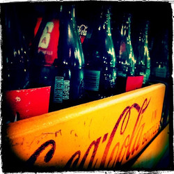 Antique coca Cola Bottles