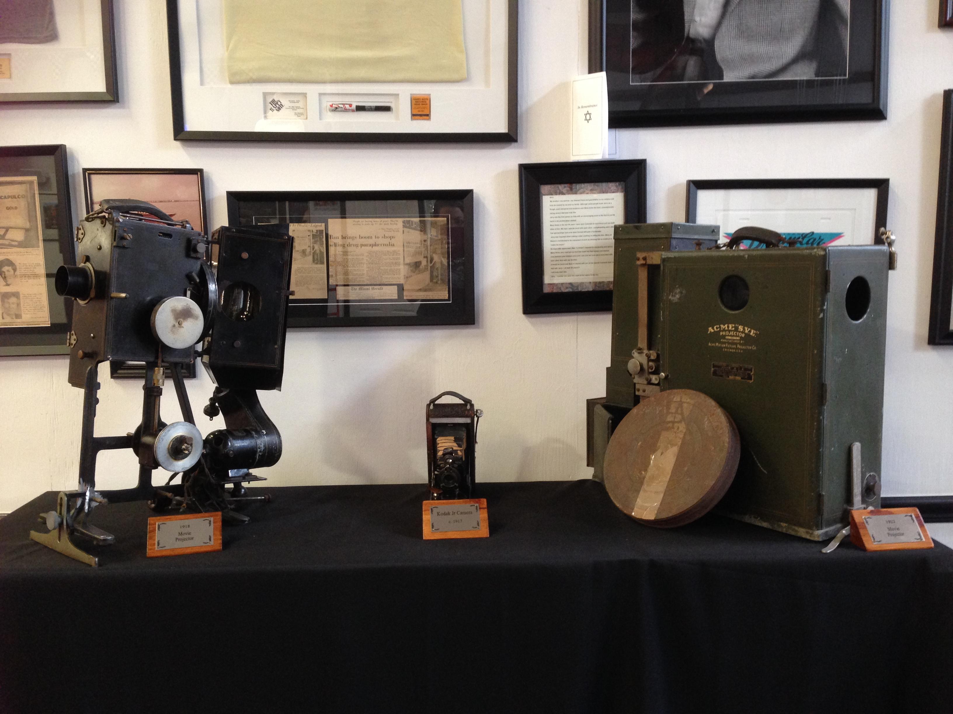 Antique Movie Projector & Camera