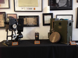 Antique Movie Projector & Camera