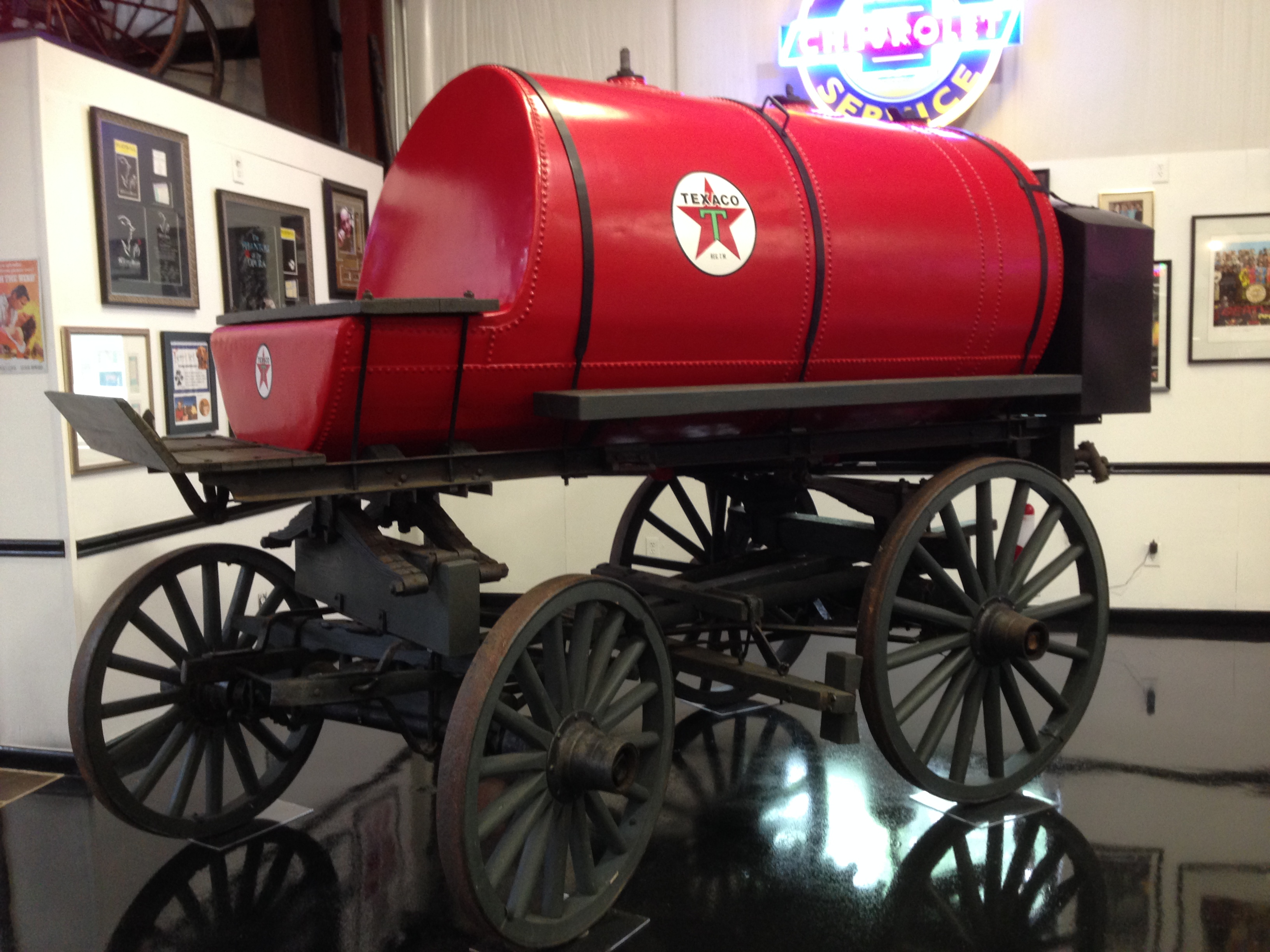 Texaco Gas Delivery Wagon