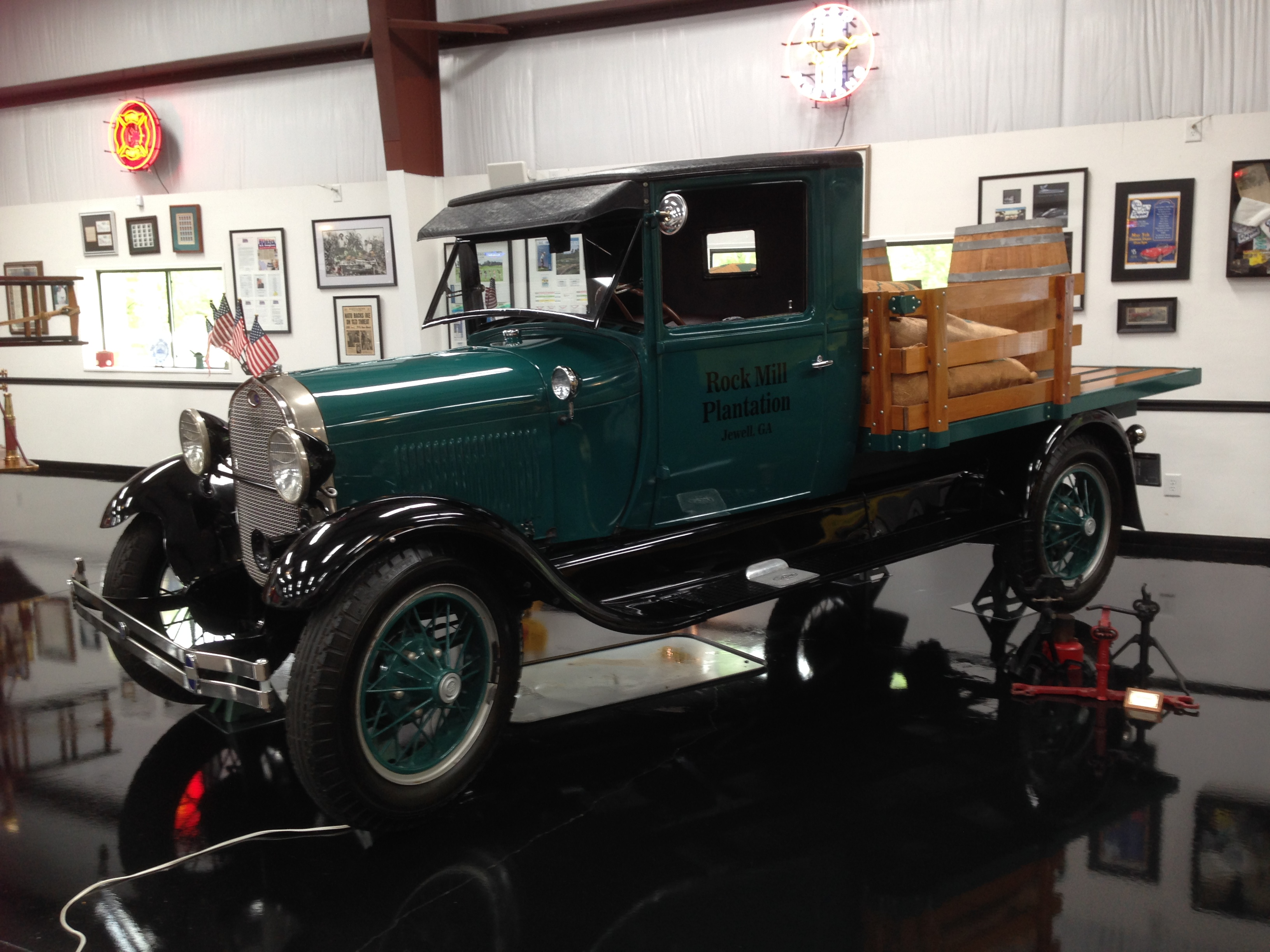 1928 Ford AA Stake Truck