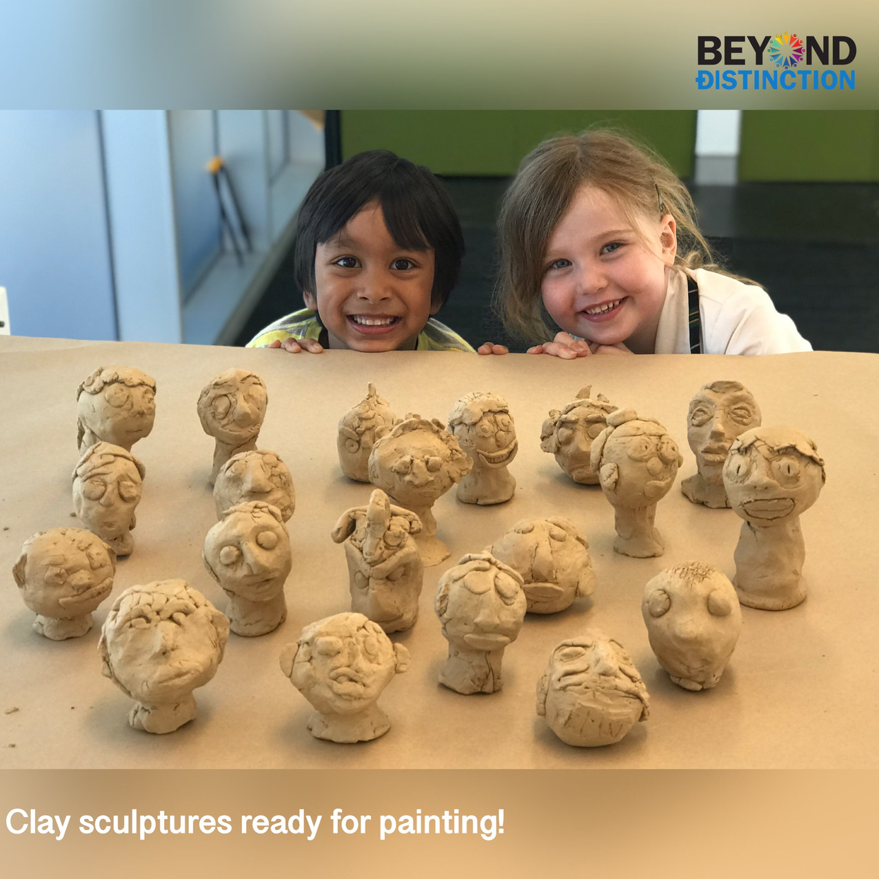 BDA_Clay sculptures by Students