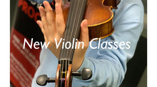 New violin classes are coming!