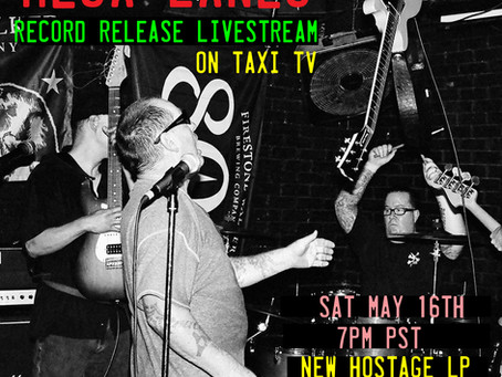 MESA LANES RETURNS...LIVE STREAM RECORD RELEASE PARTY 5/16/2020 on TAXI TV.