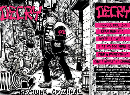 DECRY returns to Vinyl new 45 coming 01-11-2020