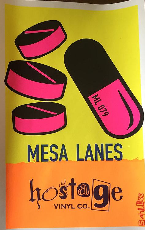 MESA LANES SAHUGG release poster