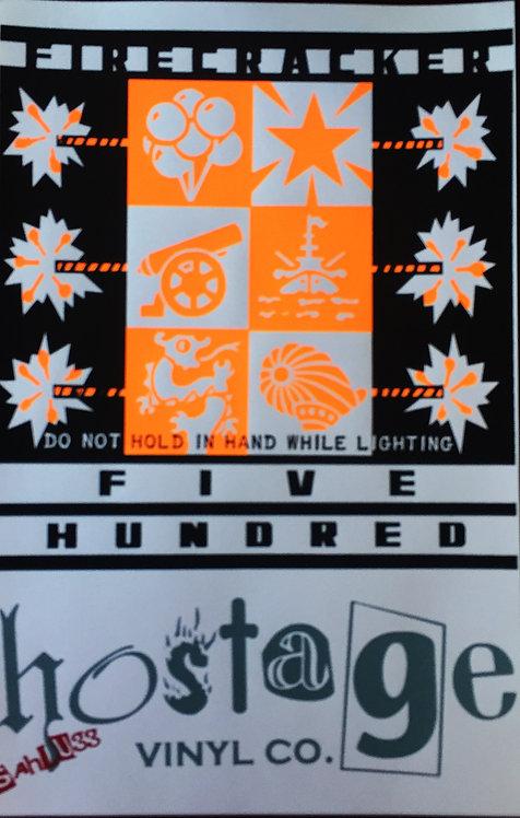 Firecracker 500 Sahlugg release poster