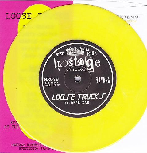 "HR078 Loose Trucks ""Outta My Way"" 45 Electric Banana Wax"