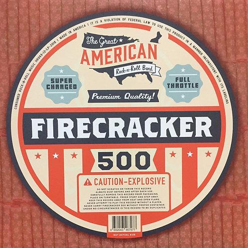 Firecracker 500 s/t debut LP red vinyl