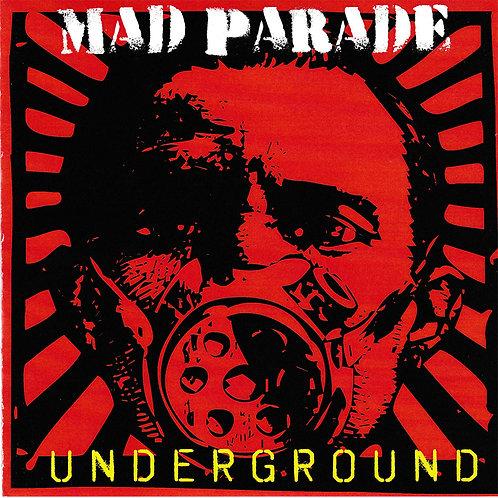 """HR061 Mad Parade """"Underground"""" White Vinyl"""