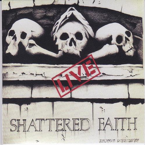 """HR070 SHATTERED FAITH """"Volume 1"""" CD"""