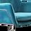 Thumbnail: Delilah Armchair - Blue Velvet