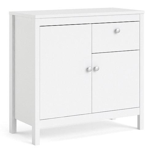 Madrid Sideboard 2 doors + 1 drawer in White