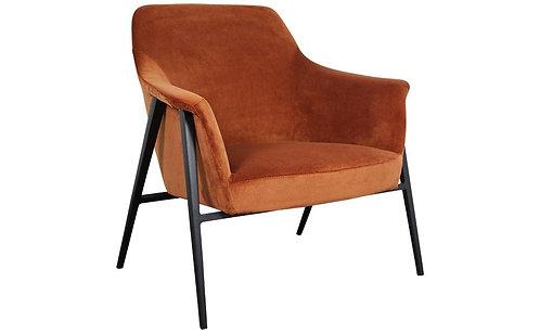 Tennyson Armchair - Vintage Rust
