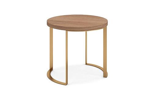Lunato Side Table - Walnut