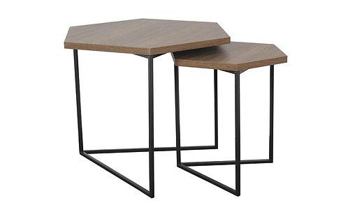 Misto Hexagonal Nest Tables