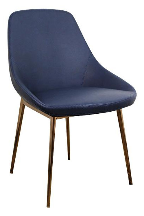 Set of 2 Lucia Dining Chairs - Blue