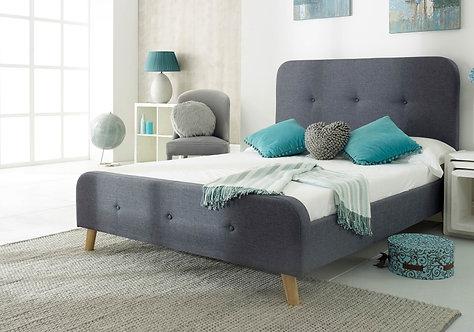 Nordic Fabric Bedframe Double (4'6)