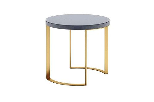 Lunato Side Table - Grey Lacquer