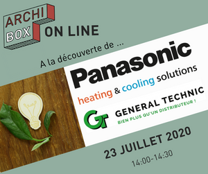 Découvrir Panasonic heating & cooling solutions et General Technic