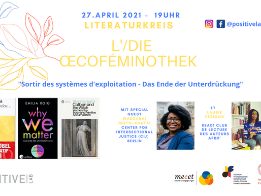 Our new event Œcoféminothek for the full moon of April