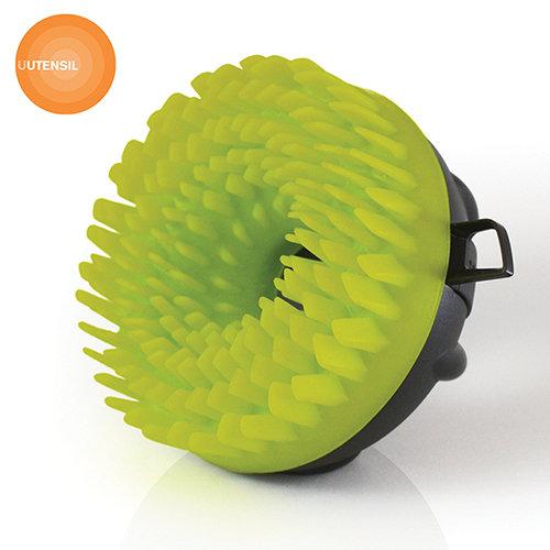 【英國üutensilStirr】SC-007UTM-矽膠刷毛蔬菜刷SCRRUB