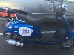 Harvey's Pizza Moped
