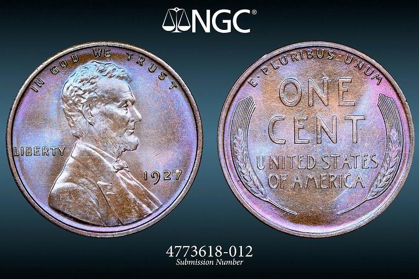 1927 Lincoln NGC MS66BN
