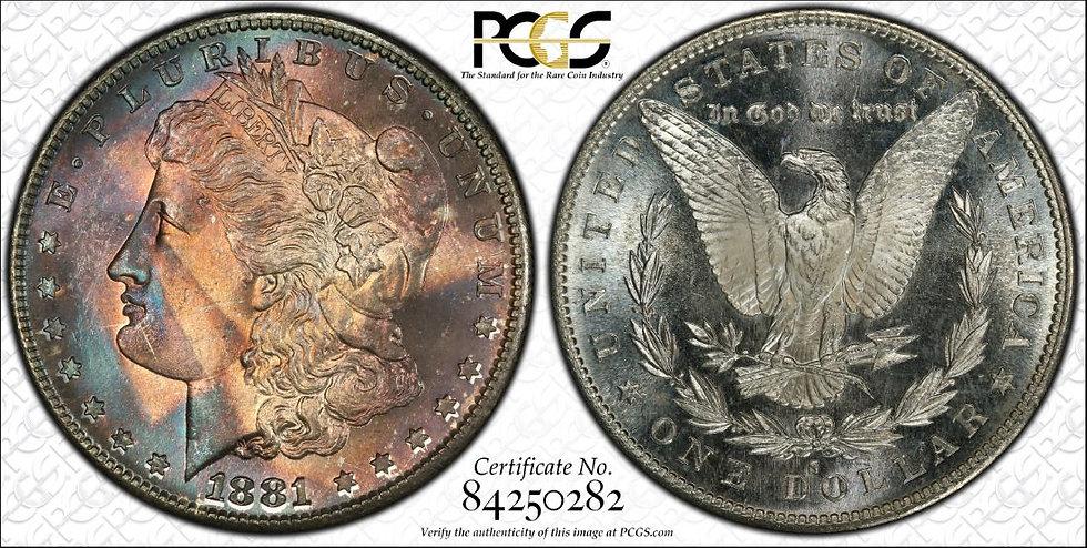 1881-S PCGS Unc Details