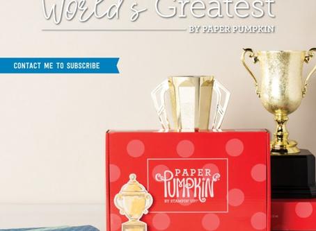 World's Greatest-August Paper Pumpkin