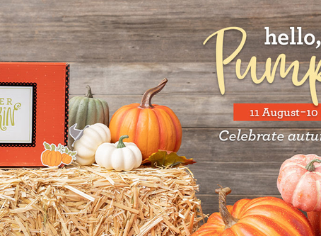 Hello Pumpkin-New Paper Pumpkin Kit