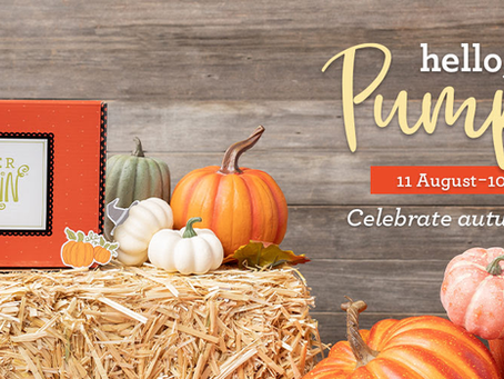 Hello Pumpkin-New Paper Pumpkin Kit