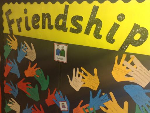 Pupils have enjoyed Friendship Week…
