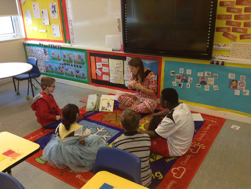 World Book Day celebrations at Longwill…