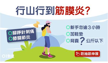 HK01【行山】易抽筋膝痛足底筋膜炎?扁平足最高危必做3個伸展動作