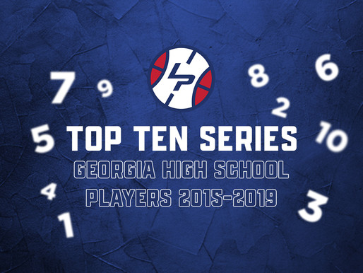 Top Ten Series: Georgia HS Players 2015-2019