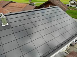 Neues Indach System nach Dachsanierung
