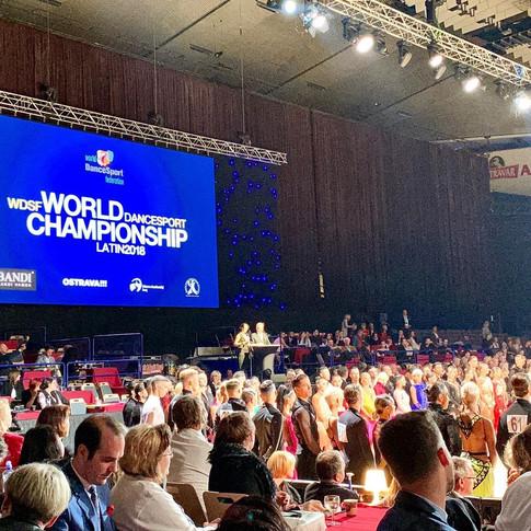 2018 World Latin Championships