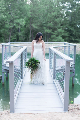 Fern Styled Shoot Pier